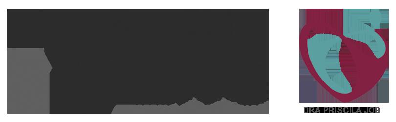 Logo Dra. Priscila Job e Clinica Live